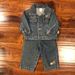 Carter's two piece denim outfit